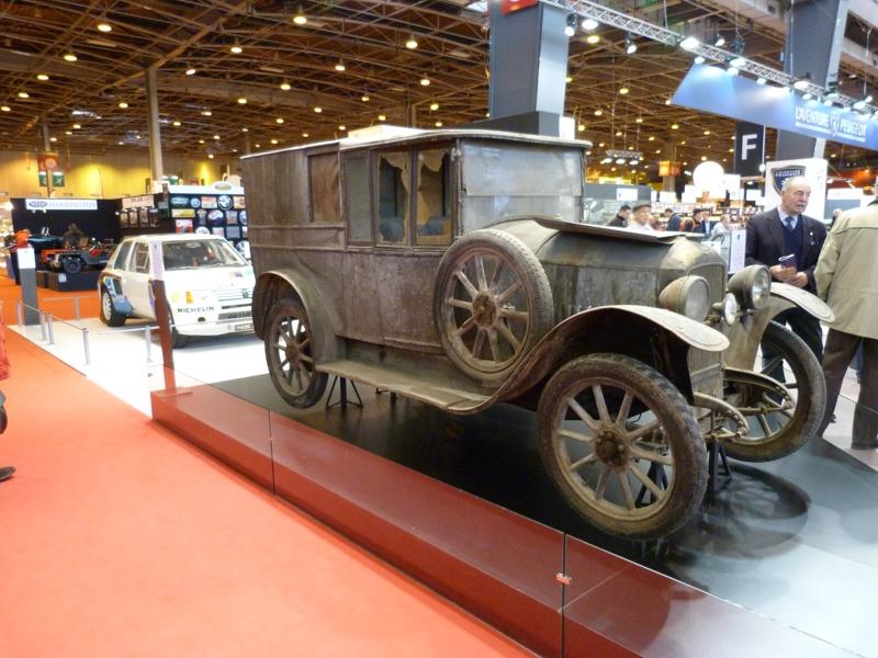 Peugeot 163 de 1922 emmurée pendant 63 ans