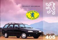 Catalogue 405 break 1994 (B)
