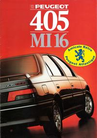 Catalogue 405 Mi16 1988