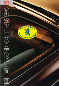 Catalogue 405 STI 1995