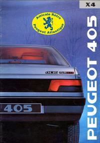 Catalogue 405 X4 1989